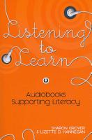 Listening to Learn PDF