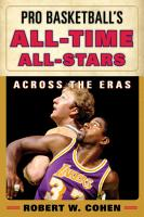 Pro Basketball s All Time All Stars PDF