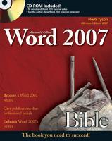 Microsoft Word 2007 Bible PDF