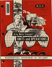 Army motor transport units and operations: Part 101