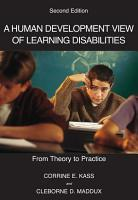 A Human Development View of Learning Disabilities PDF