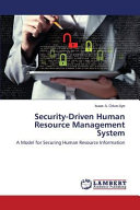 Security Driven Human Resource Management System