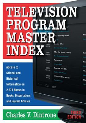 Television Program Master Index PDF