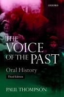 Voice of the Past PDF