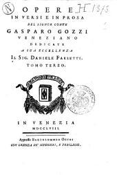 Opere in versi e in prosa del signor conte Gasparo Gozzi veneziano ... Tomo primo (-sesto)