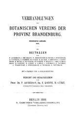 Verhandlungen des botanischen Vereins der Provinz Brandenburg: Band 30