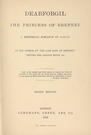 Dearforgil  the Princess of Brefney PDF
