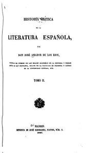 Historia crítica de la literatura española: Volume 2