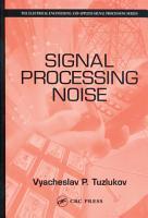 Signal Processing Noise PDF