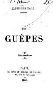 Les guêpes: Novembre, Volume1