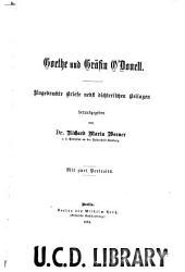 Goethe und gräfin O'Donell