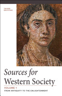 Sources For Western Society Volume 1 Book PDF