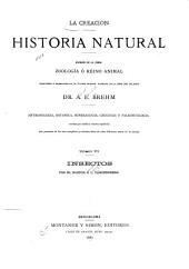 La creación: historia natural. Division de la obra: zoologia ó reino animal, Volúmenes 6-7