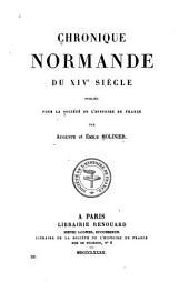 Chronique normande du XIVe siècle