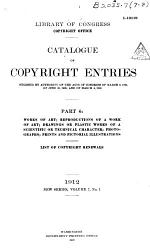 Catalog of Copyright Entries