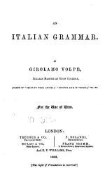An Italian Grammar PDF