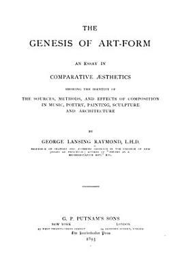 The Genesis of Art form PDF