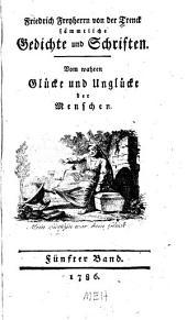 Sämmtliche Gedichte un Schriften: Band 5
