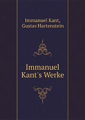 Immanuel Kant's Werke: Bände 1-2