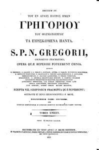 Patrologia Graeca PDF