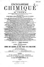 Encyclopédie chimique...