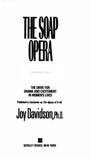 The Soap Opera Syndrome