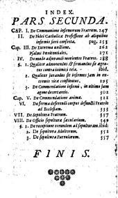 Manuale Divinorum Officiorum F.F. Discalceatorum, Ordinis Beatae Mariae Virginis De Monte Carmelo