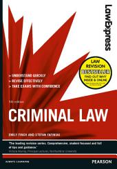 Law Express: Criminal Law (Revision Guide): Edition 5