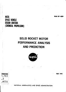 Solid Rocket Motor Performance Analysis and Prediction PDF