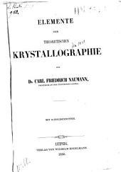 Elemente der theoretischen krystallografie