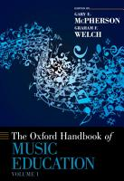 The Oxford Handbook of Music Education PDF