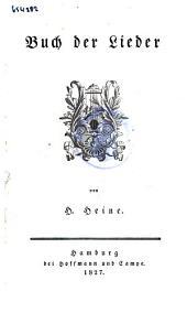 Buch der Lieder