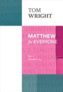 Matthew for Everyone PDF