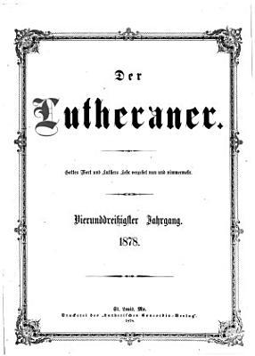 Der Lutheraner PDF
