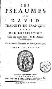 Les pseaumes de David: Volume3