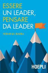 Essere un leader, pensare da leader