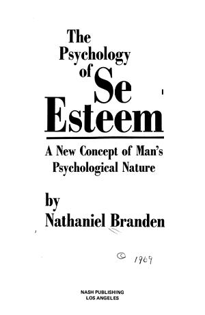The Psychology of Self esteem