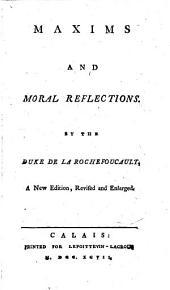 Maximes et reflexions morales