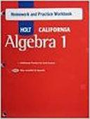 Algebra 1  Grade 8 Homework and Practice Workbook PDF