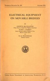 Electrical equipment on movable bridges