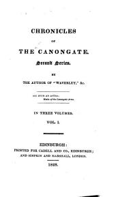 Chronicles of the Canongate. By the author of 'Waverley'.
