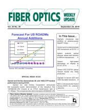 Fiber Optics Weekly Update December 24, 2010