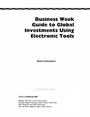 Business Week Guide to Global Investments Using Electronic Tools PDF