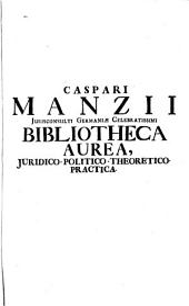 Bibliotheca aurea: Volume 1