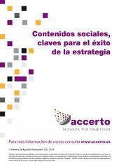 Contenidos sociales, claves para el éxito de la estrategia