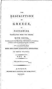 The Description of Greece: Volume 2