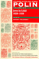Jews in Łódź, 1820-1939