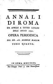 Annali di Roma ...: opera periodica, Volume 4