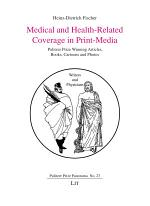 Medical and Health-Related Coverage in Print-Media