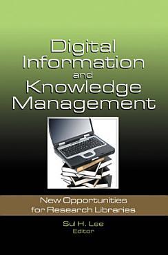 Digital Information and Knowledge Management PDF